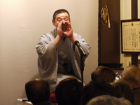 【第32回賞味会】第9回 瀧川鯉橋落語の夕べ(演目:転宅)